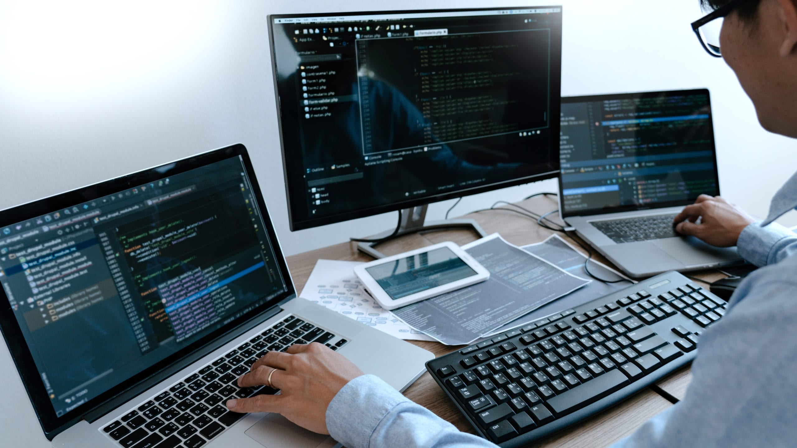 Our extensive knowledge of multiple systems allows us to sell, install, and support any software or hardware needs your business has.