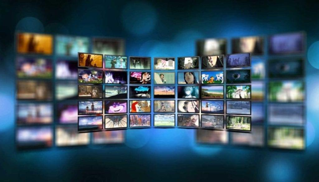 Smart TV displays