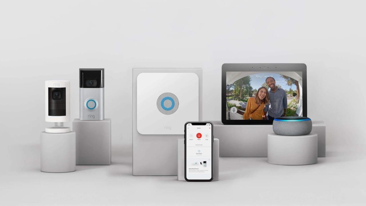 Ring cameras, monitors, and alarms