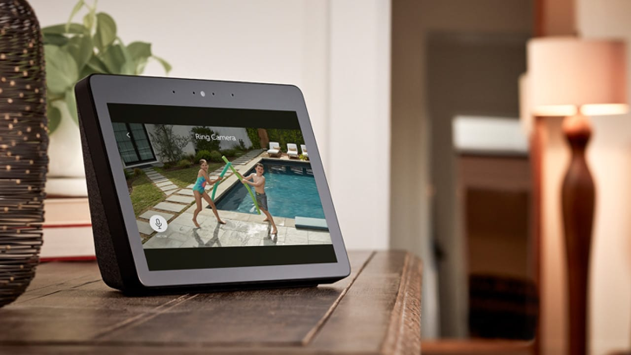 ring security echo show